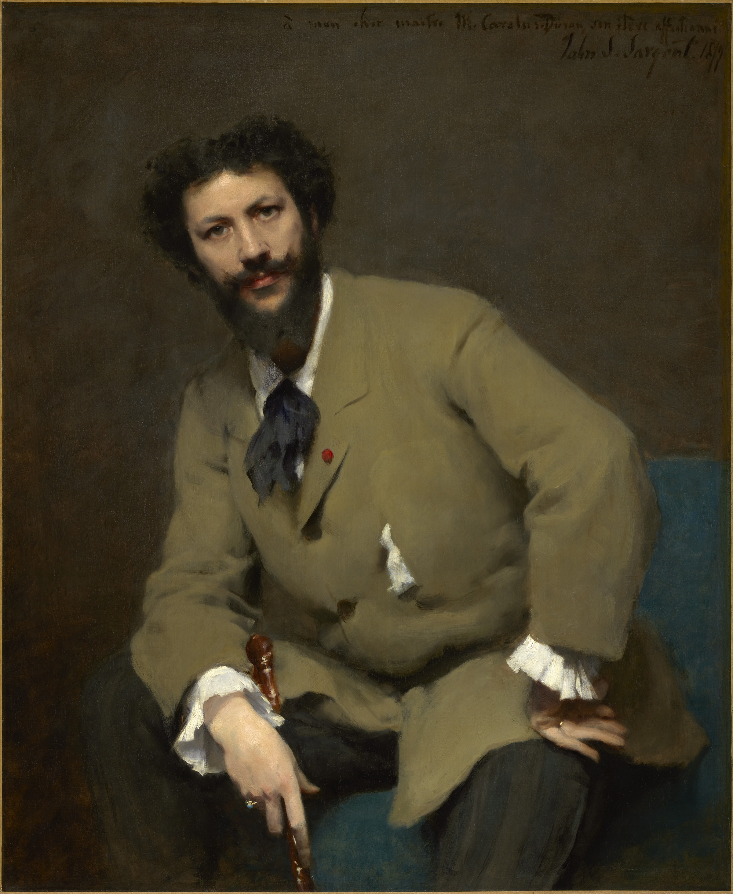 Sargent portraits of artists and friends national for The sterling