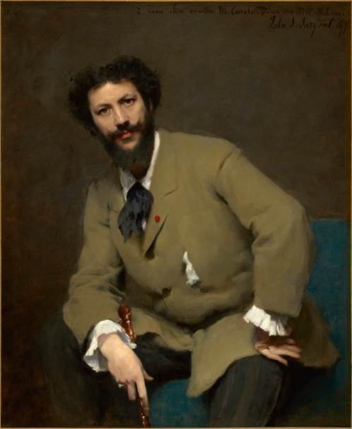 Carolus-Duran by John Singer Sargent, 1879 © Sterling and Francine Clark Art Institute, Williamstown, Massachusetts, USA (photo by Michael Agee)