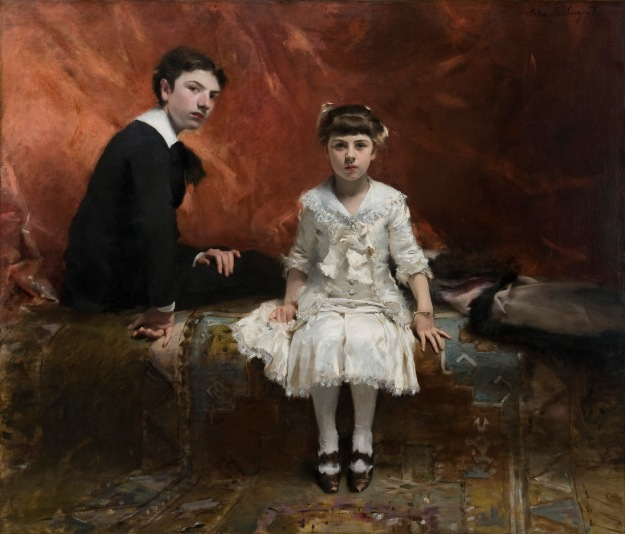 Édouard and Marie-Louise Pailleron by John Singer Sargent, 1881 © Des Moines Art Center, Des Moines, Iowa