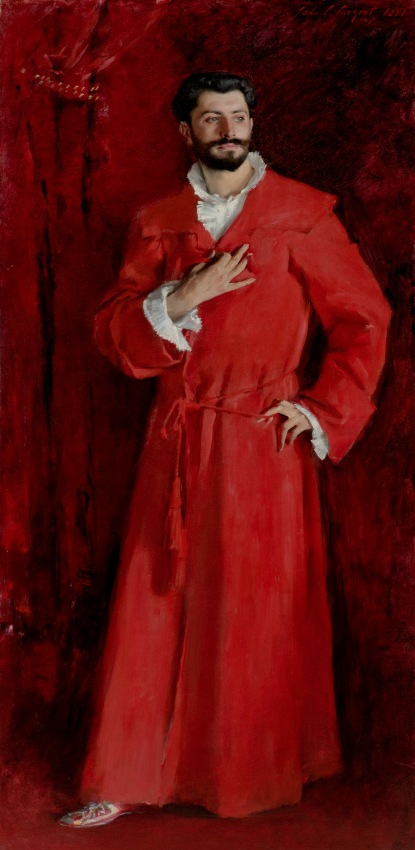 Dr Pozzi at Home by John Singer Sargent, 1881 © The Armand Hammer Collection, Los Angeles