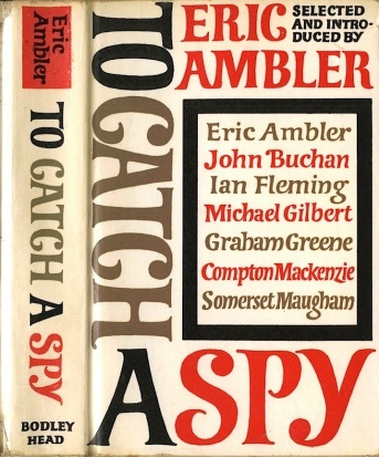 Original 1964 hardback cover of To Catch A Spy