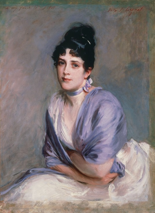 Mrs Frank Millet by John Singer Sargent, probably 1885–6 © Private collection