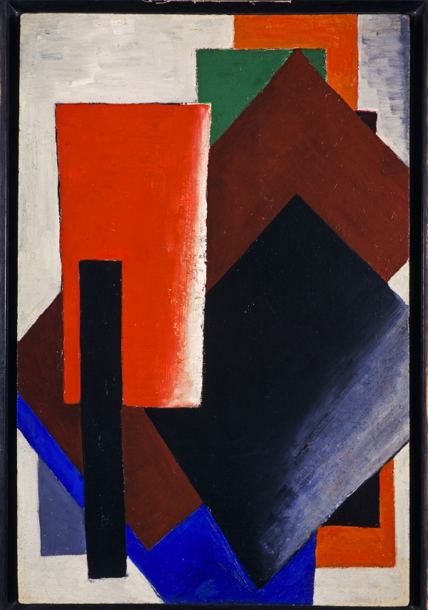 Lyubov Popova Painterly Architectonic 1916 Oil on board 59.4 × 39.4 cm Scottish National Gallery of Modern Art, Edinburgh