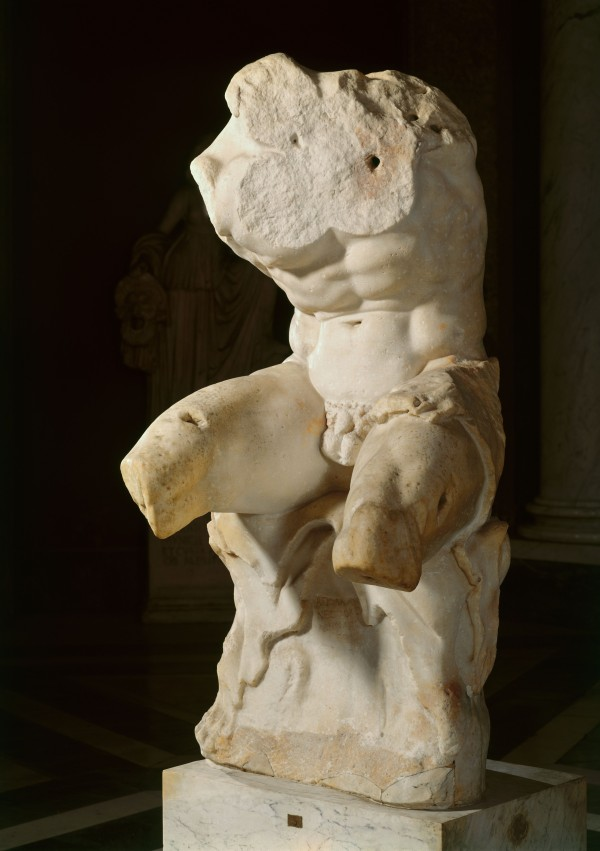 Belvedere Torso, 1st century BC. Vatican, Museo, Pio-Clementino. © 2015. Photo Scala, Florence