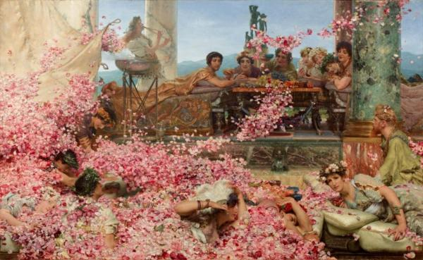 Lawrence Alma-Tadema The Roses of Heliogabalus(1888) The Pérez Simón collection, Mexico © Studio Sébert Photographes