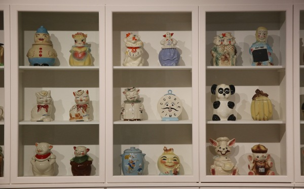 Magnificent Obsessions: The Artist as Collector Some of Andy Warhol's cookie jar collection Barbican Art Gallery 12 Feb – 25 May 2015  © Peter MacDiarmid / Getty Images