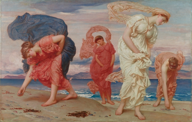 Frederic, Lord Leighton Greek girls picking up pebbles by the sea (1871) The Pérez Simón collection, Mexico © Studio Sébert Photographes