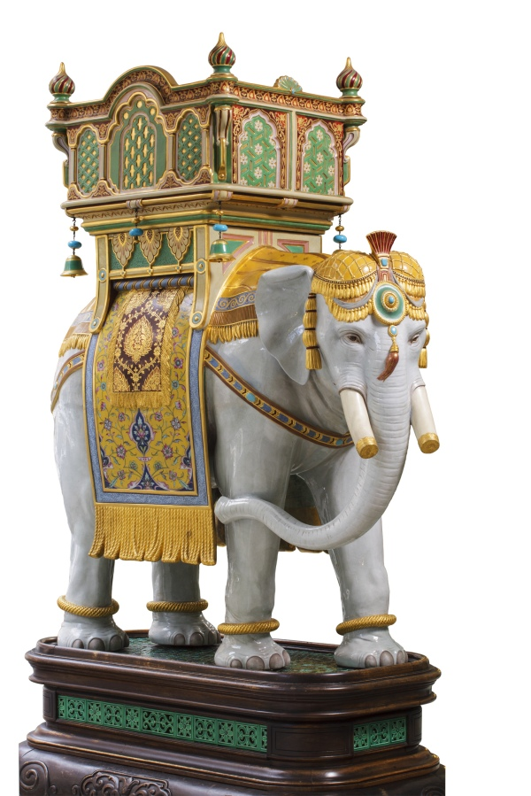 Thomas Longmore and John Hénk, Elephant (1889) © Thomas Goode & Co. Ltd., London