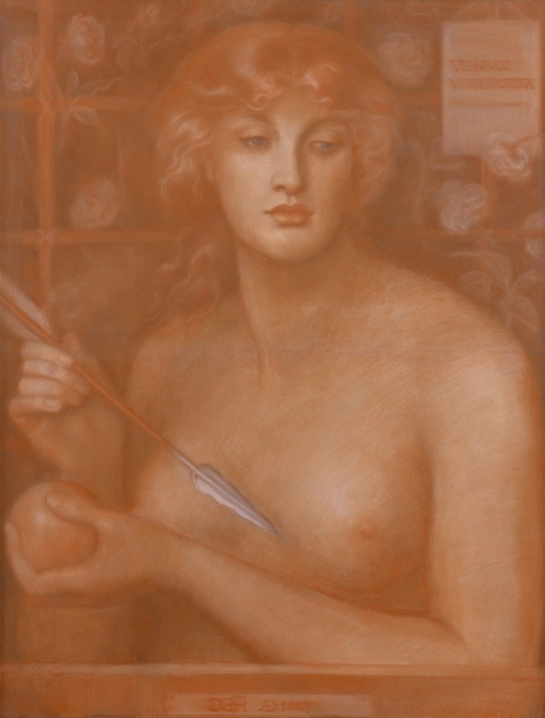 Dante Gabriel Rossetti Venus Verticordia 1867-1868 Oil on canvas The Pérez Simón collection, Mexico © Studio Sébert Photographes