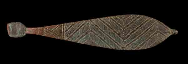Spear thrower. North Western Australia, late 19th or early 20th century © The Trustees of the British Museum.