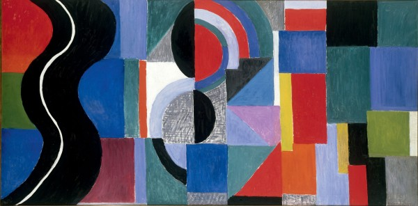 Sonia Delaunay, Syncopated rhythm, so-called The Black Snake (1967) Musée des Beaux-Arts, Nantes, France  © Pracusa 2014083