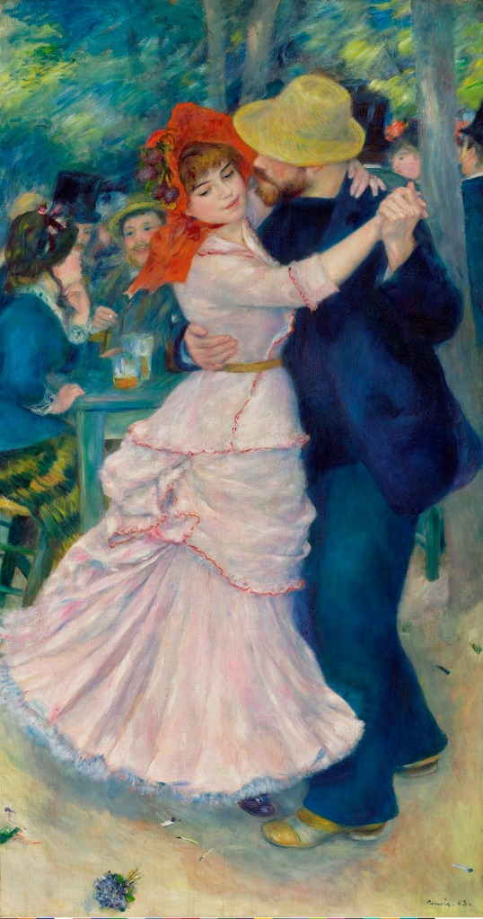 Pierre-Auguste Renoir, Dance at Bougival (1883) Museum of Fine Arts, Boston. Picture Fund © 2014 Museum of Fine Arts, Boston