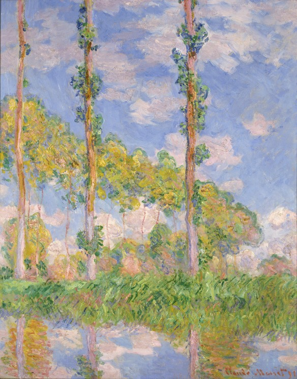 Claude Monet, Poplars in the Sun (1891) The National Museum of Western Art, Matsukata Collection, Tokyo P.1959-0152 © National Museum of Western Art, Tokyo