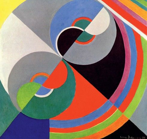 Sonia Delaunay, Rhythm Colour no. 1076 (1939)