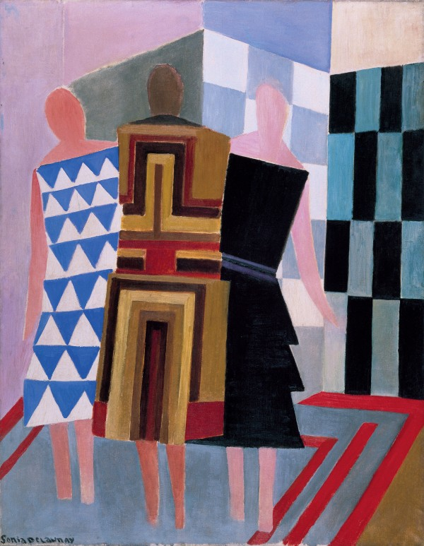 Sonia Delaunay, Simultaneous Dresses (The three women) (1925) Museo Thyssen-Bornemisza, Madrid  © Pracusa 2014083