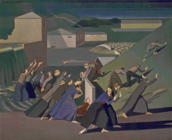 Winifred Knights, The Deluge (1920) Oil paint on canvas Tate © The estate of Winifred Knights