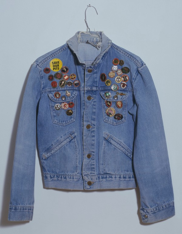 Jeremy Deller, Jacket from The Battle of Orgreave Archive (An Injury to one is an Injury to All) (2001) Tate. Commissioned and produced by Artangel, film directed by Mike Figgis. Presented by Tate Members 2005. The Artangel Collection at Tate © Jeremy Deller