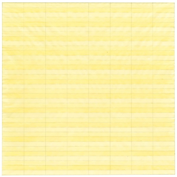 Agnes Martin, Untitled (1977) Private collection Photograph courtesy of Pace Gallery © 2015 Agnes Martin / Artists Rights Society (ARS), New York