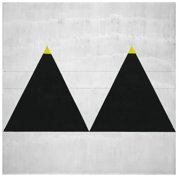 Agnes Martin, Untitled #1 (2003) Fondation Louis Vuitton, Paris © 2015 Agnes Martin / Artists Rights Society (ARS), New York