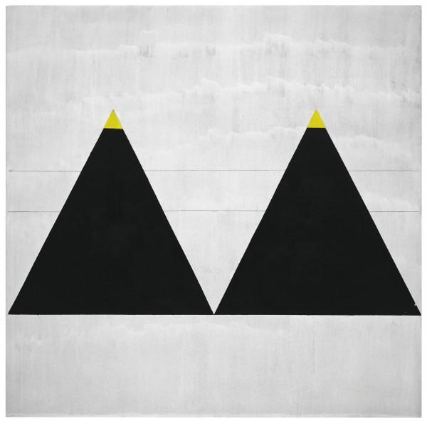 Agnes Martin, Untitled #1 (2003) Fondation Louis Vuitton, Paris © 2015 Agnes Martin / Artists Rights Society (ARS), New York