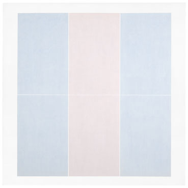 Agnes Martin, Untitled #3 (1974) Des Moines Art Center, Iowa, USA © 2015 Agnes Martin / Artists Rights Society (ARS), New York
