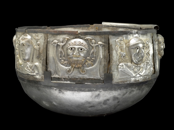 Gundestrup Cauldron. Silver. Gundestrup, northern Denmark, 100 BC–AD 1. © The National Museum of Denmark.