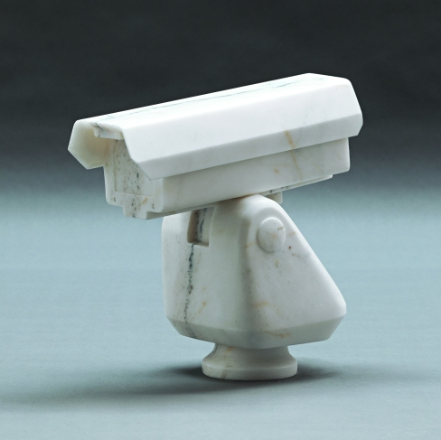 Ai Weiwei, Surveillance Camera (2010) Marble Courtesy of Ai Weiwei Studio Image courtesy Ai Weiwei (c) Ai Weiwei
