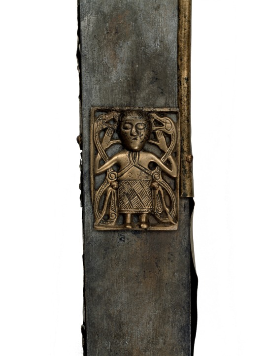 Tully Lough Cross. Wood, bronze. Tully Lough, north-west Ireland, AD 700–900. © National Museum of Ireland