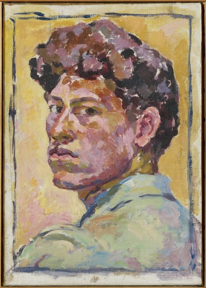 Small Self-portrait by Alberto Giacometti (1921) Kunsthaus Zurich, Legat Bruno Giacometti © The Estate of Alberto Giacometti (Fondation Giacometti, Paris and ADAGP, Paris)