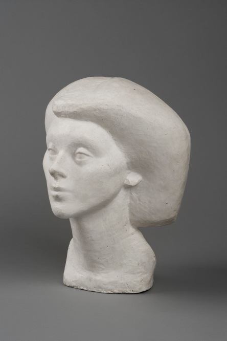 Head of Isabel by Alberto Giacometti (1936) Collection Fondation Giacometti, Paris © The Estate of Alberto Giacometti (Fondation Giacometti, Paris and ADAGP, Paris)