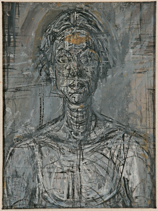 Bust of Annette by Alberto Giacometti (1954) Private Collection © The Estate of Alberto Giacometti (Fondation Giacometti, Paris and ADAGP, Paris)