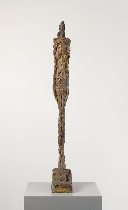 Woman of Venice VIII by Alberto Giacometti (1956) Kunsthaus Zurich, Alberto Giacometti-Stiftung © The Estate of Alberto Giacometti (Fondation Giacometti, Paris and ADAGP, Paris)
