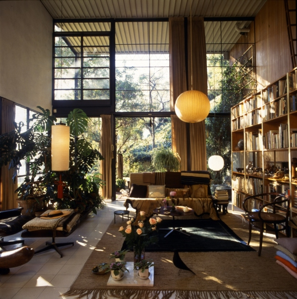 Eames House Living Room. Photograph: Antonia Mulas. © Eames Office LLC.