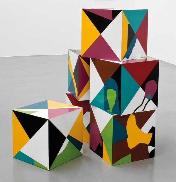 Teresa Burga, Cubes (1968) Private Collection Photo: Courtesy the artist and Galerie Barbara Thumm © Teresa Burga