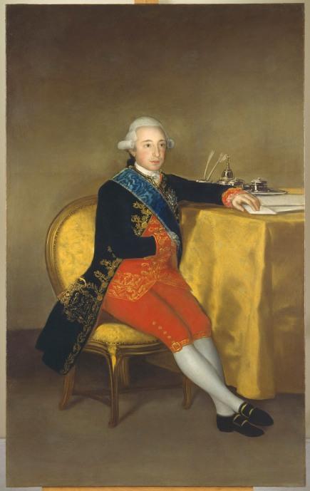 Francisco de Goya The Count of Altamira (1787) Colección Banco de España P-132 © Colección Banco de España