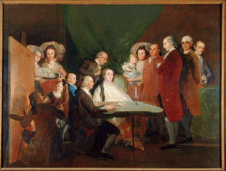 Francisco de Goya The Family of the Infante Don Luis de Borbón (1783-4) © Fondazione Magnani Rocca, Parma, Italy