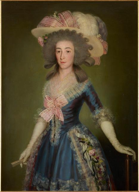 Francisco de Goya The Countess-Duchess of Benavente (1785) Private Collection, Spain © Joaquín Cortés