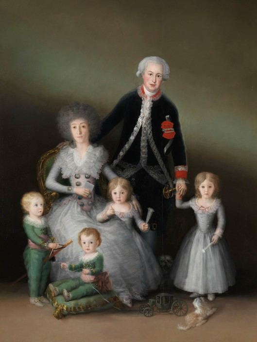 Francisco de Goya The Duke and Duchess of Osuna and their Children (1788) © Madrid, Museo Nacional del Prado