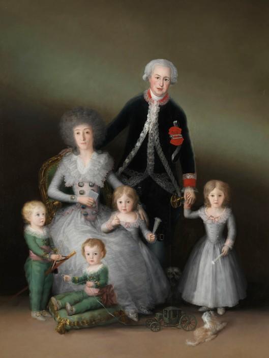 Francisco de Goya The Duke and Duchess of Osuna and their Children (1788) © Madrid, Museo Nacional del Prado