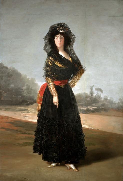 Francisco de Goya The Duchess of Alba (1797) © Courtesy of The Hispanic Society of America, New York