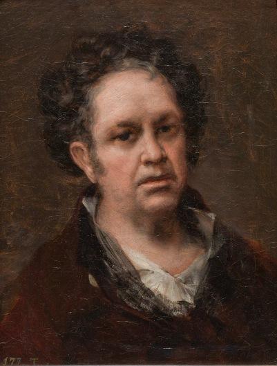 Francisco de Goya Self Portrait (1815) © Madrid, Museo Nacional del Prado