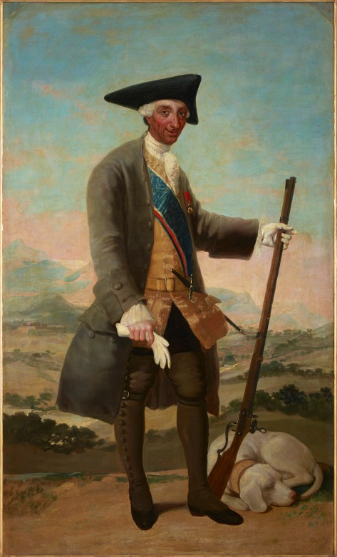 Francisco de Goya Charles III in Hunting Dress (1786-8) Duquesa del Arco