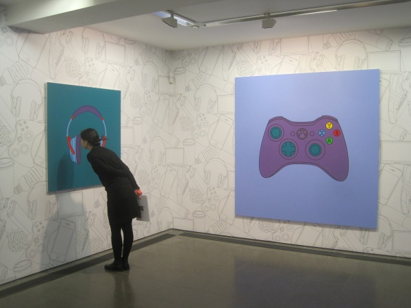 Transience by Michael Craig-Martin at the Serpentine Gallery - installation view