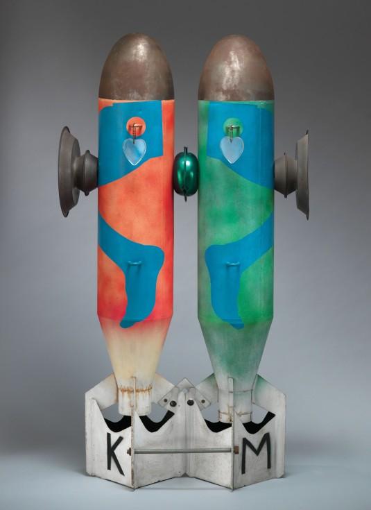 Kiki Kogelnik, Bombs in Love (1962) Bombs in Love 1962 Kevin Ryan/Kiki Kogelnik Foundation Vienna/New York