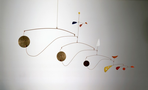 Triple Gong (c.1948) by Alexander Calder. Calder Foundation, New York, NY, USA. Photo credit: Calder Foundation, New York / Art Resource, NY © ARS, NY and DACS, London 2015
