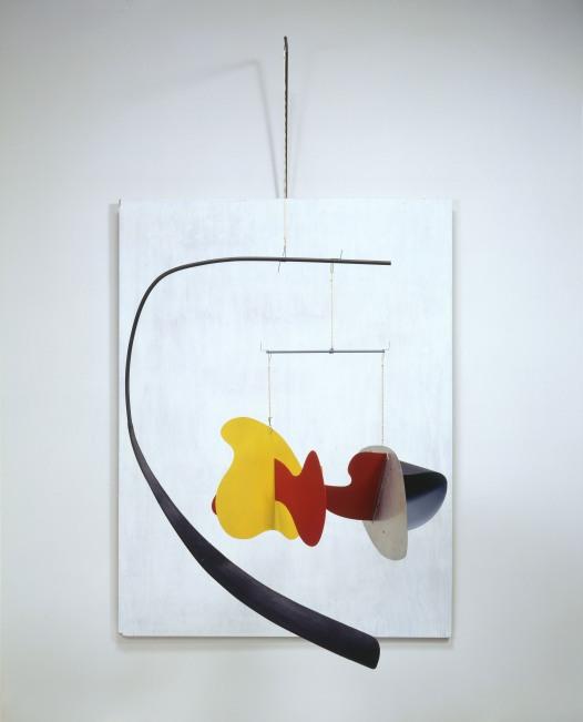 White Panel (1936) by Alexander Calder. Calder Foundation, New York, NY, USA. Photo credit: Calder Foundation, New York / Art Resource, NY. © ARS, NY and DACS, London 2014