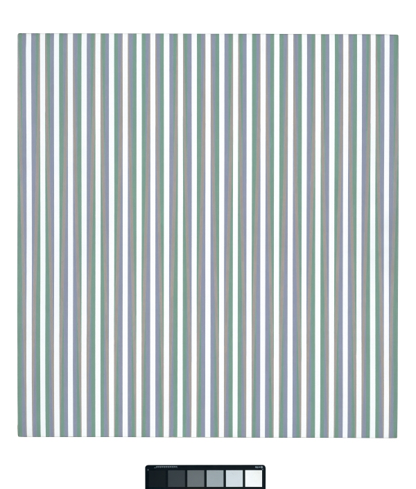 Bridget Riley Vapour (1970) Acrylic on linen © Bridget Riley 2015. All rights reserved, courtesy Karsten Schubert, London.