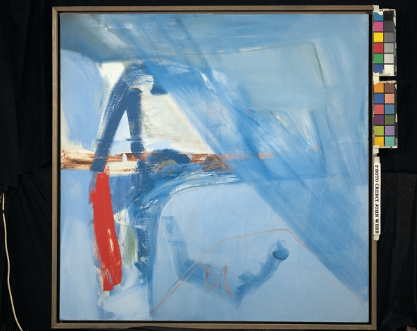 Peter Lanyon Soaring Flight (1960) Oil on canvas, 60 x 60 inches. Courtesy of Arts Council Collection, Southbank Centre