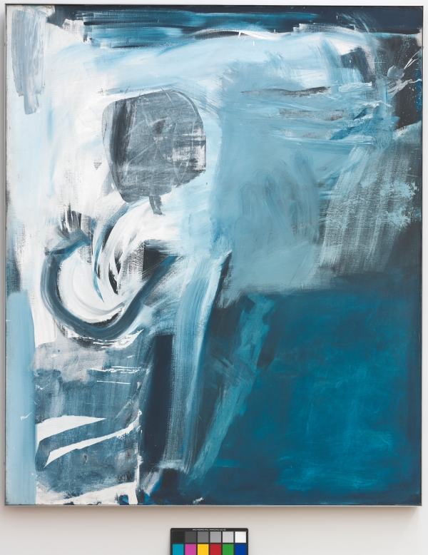Peter Lanyon Thermal (1960) Oil on canvas, 72 x 60 inches. Courtesy of The Tate Gallery