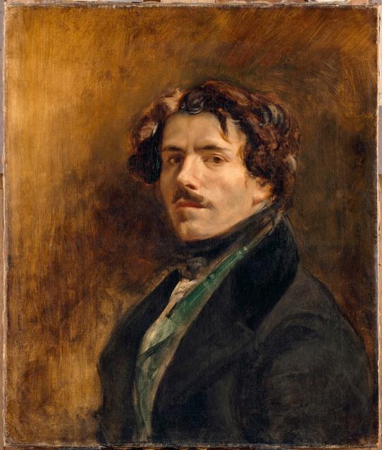 Self Portrait by Eugène Delacroix (about 1837) Musée du Louvre, Paris (RF 25) © RMN-Grand Palais (musée du Louvre) / Jean-Gilles Berizzi